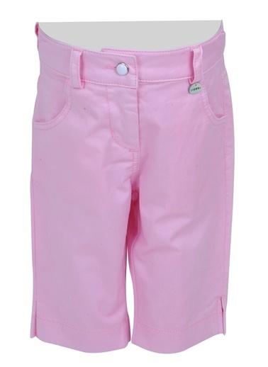 Mininio Pembe Paça Yırtmaçlı Koton Pantolon (6ay-4yaş) Pembe Paça Yırtmaçlı Koton Pantolon (6ay-4yaş) Pembe